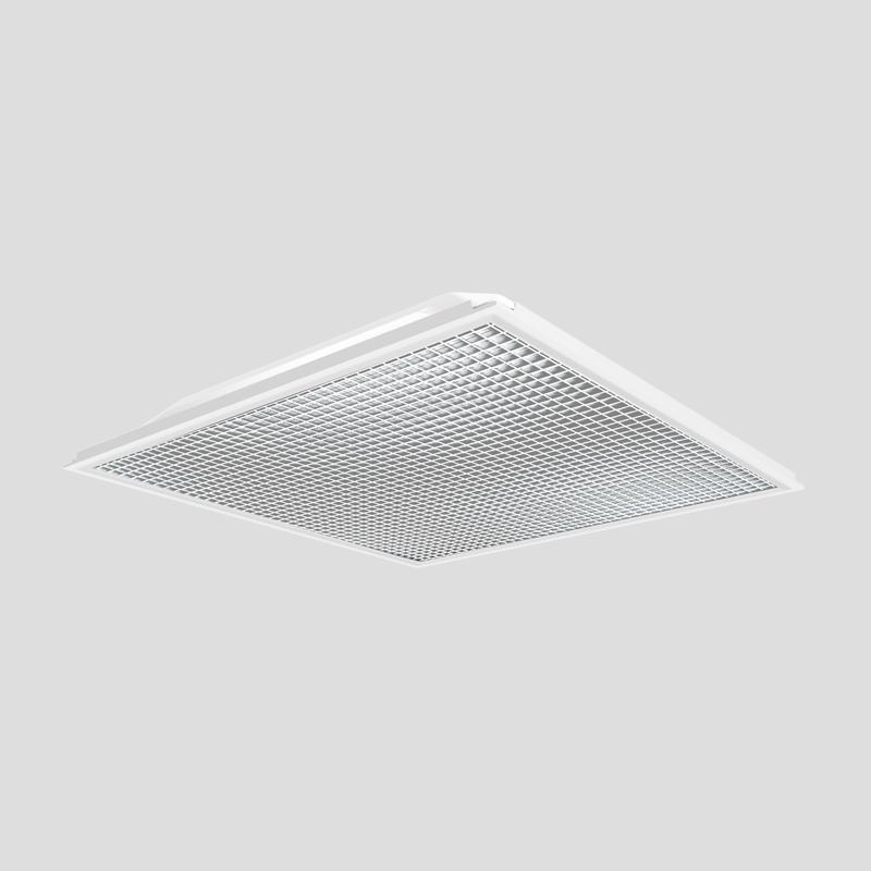 AHL-MD100 面板灯(银格栅)